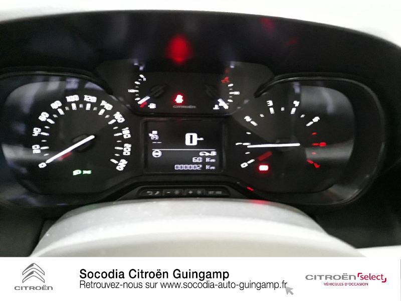 Photo 12 de l'offre de CITROEN C3 Aircross PureTech 110ch S&S Live à 16490€ chez Socodia - Citroën Guingamp