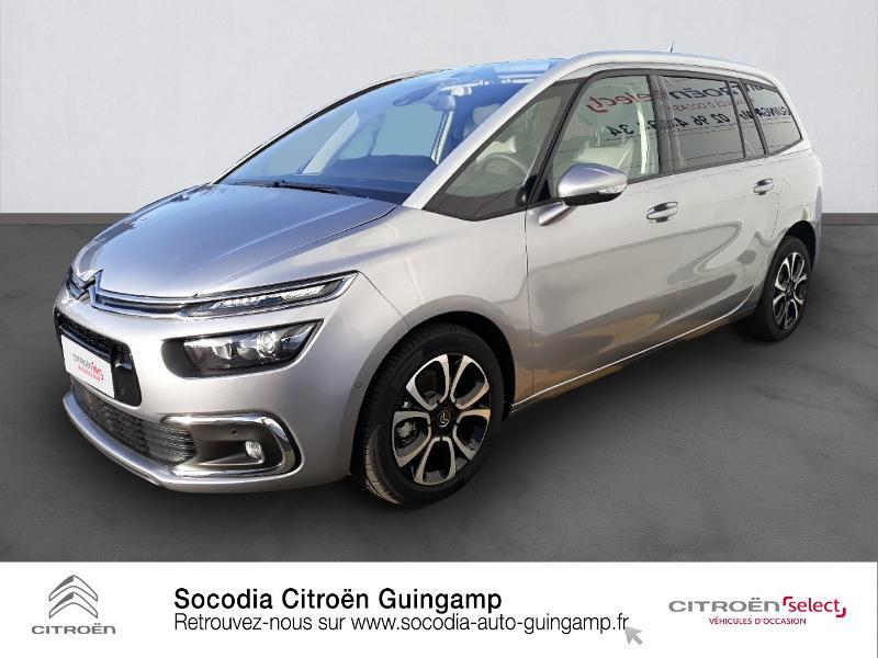 Photo 1 de l'offre de CITROEN Grand C4 SpaceTourer PureTech 130ch S&S Shine Pack EAT8 7cv à 29990€ chez Socodia - Citroën Guingamp