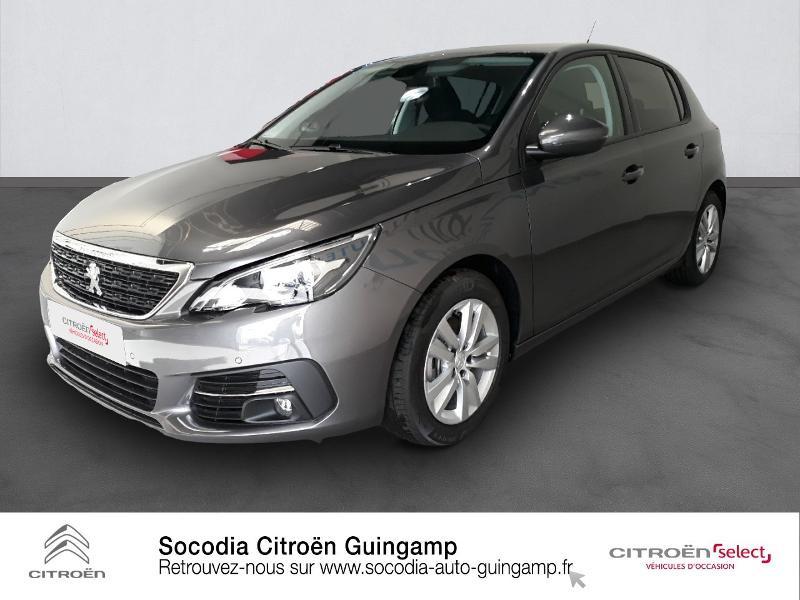 Peugeot 308 1.5 BlueHDi 130ch S&S Active Diesel GRIS PLATINIUM Occasion à vendre
