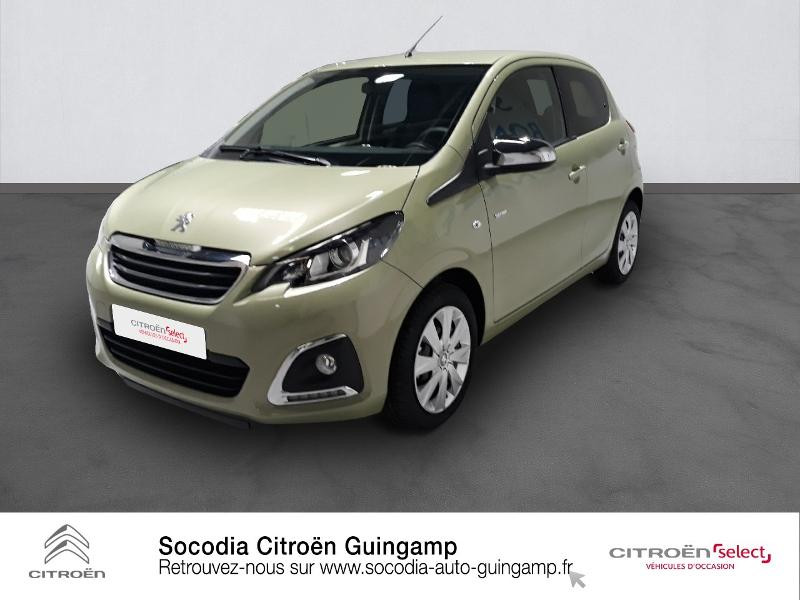 Peugeot 108 VTi 72 Style S&S 4cv 5p Essence SMOOTH GREEN Occasion à vendre