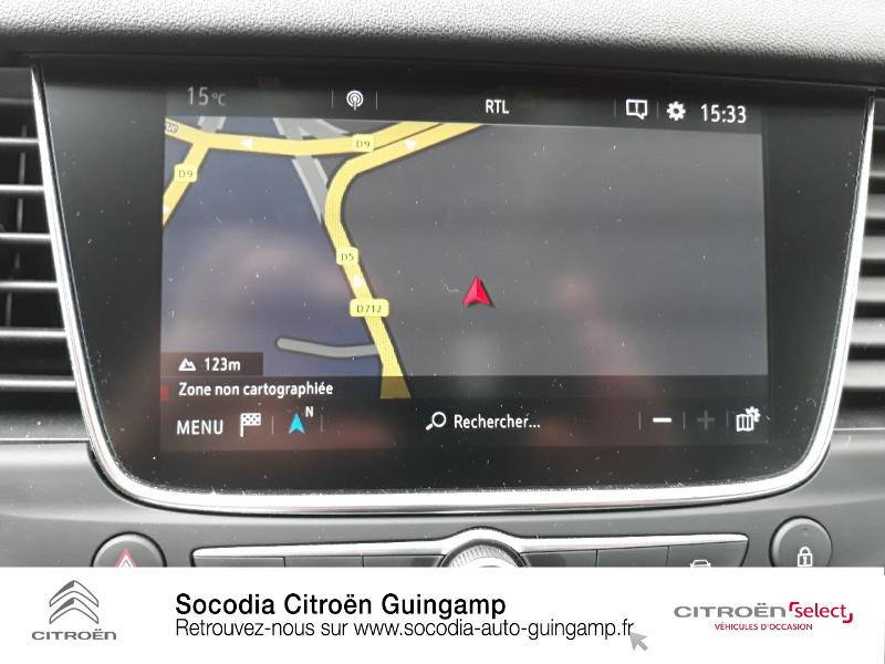 Photo 12 de l'offre de OPEL Grandland X 1.2 Turbo 130ch Innovation BVA à 21990€ chez Socodia - Citroën Guingamp