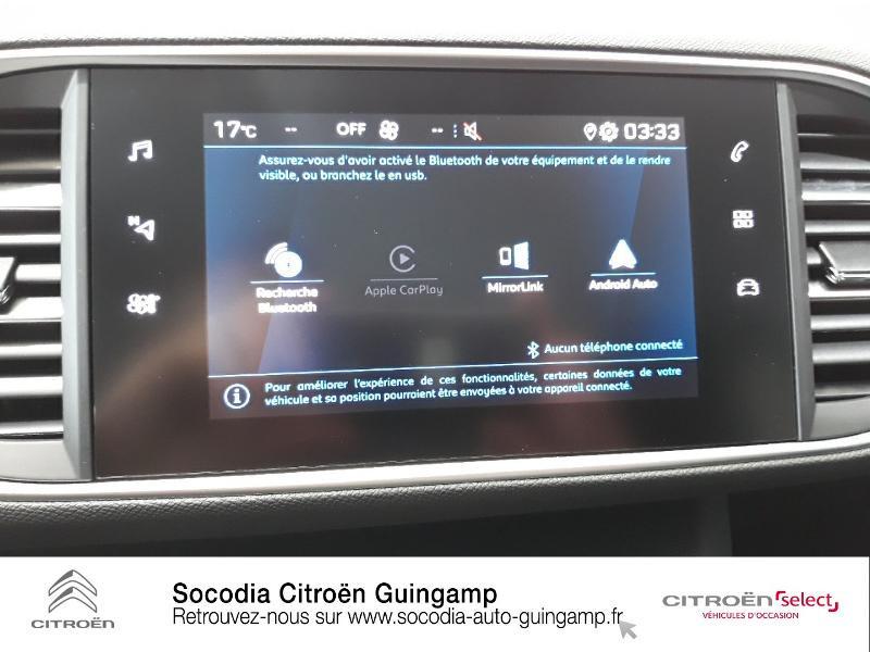 Photo 14 de l'offre de PEUGEOT 308 1.5 BlueHDi 130ch S&S Active à 20990€ chez Socodia - Citroën Guingamp