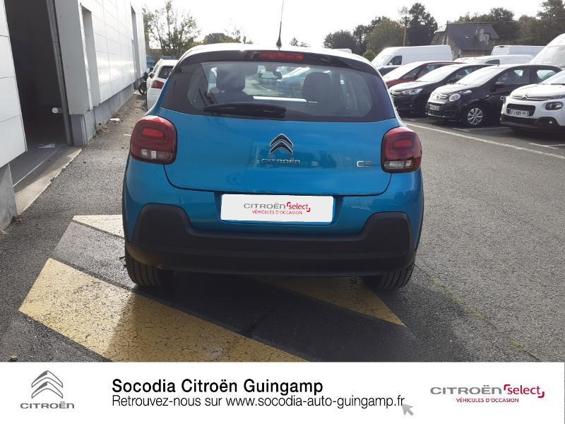 Photo 5 de l'offre de CITROEN C3 1.5 BlueHDi 100ch S&S Shine à 19990€ chez Socodia - Citroën Guingamp