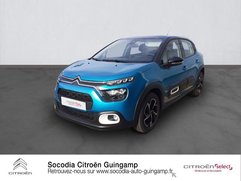 Photo 1 de l'offre de CITROEN C3 1.5 BlueHDi 100ch S&S Shine à 19990€ chez Socodia - Citroën Guingamp