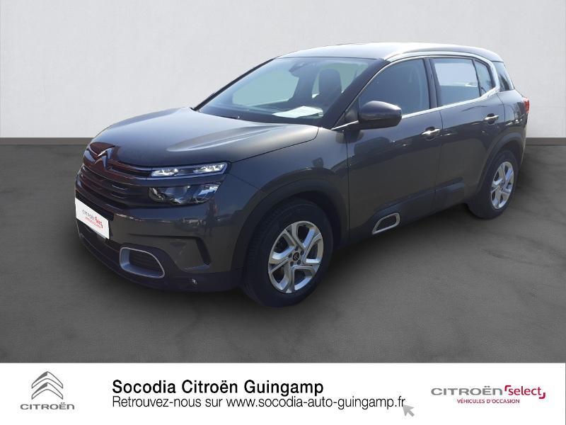 Photo 1 de l'offre de CITROEN C5 Aircross BlueHDi 130ch S&S Live EAT8 E6.d-TEMP à 26490€ chez Socodia - Citroën Guingamp