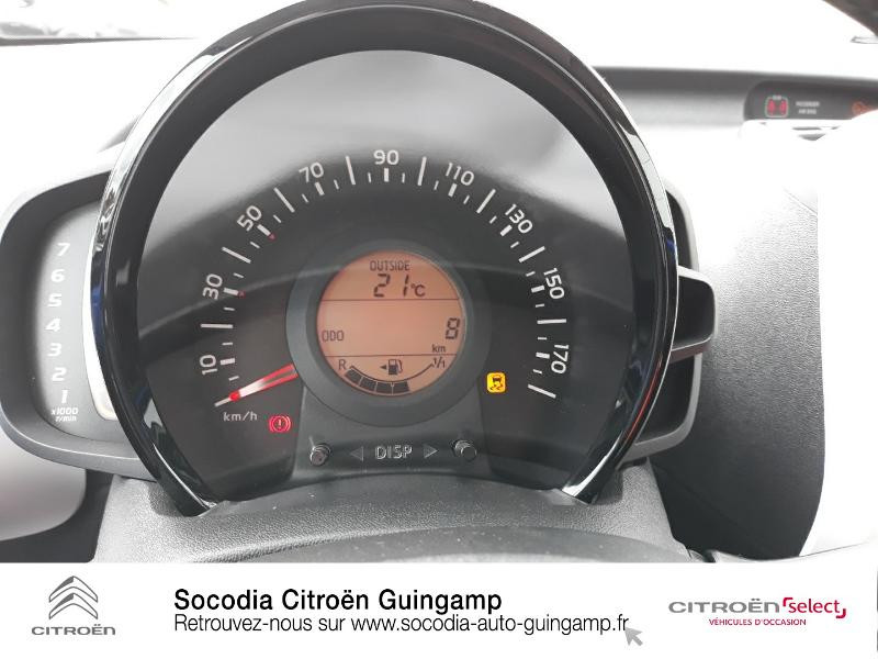 Photo 12 de l'offre de CITROEN C1 VTi 72 S&S Urban Ride 5p E6.d-TEMP à 13422€ chez Socodia - Citroën Guingamp