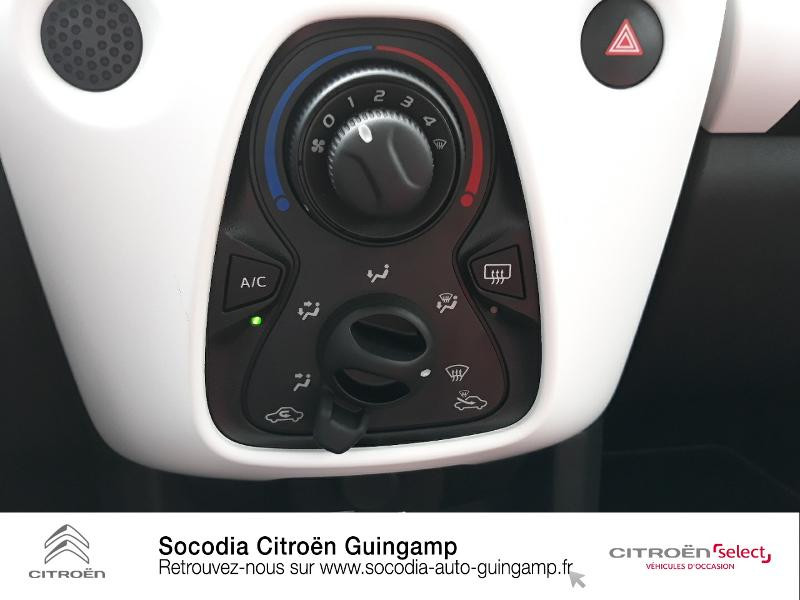 Photo 14 de l'offre de CITROEN C1 VTi 72 S&S Urban Ride 5p E6.d-TEMP à 13422€ chez Socodia - Citroën Guingamp