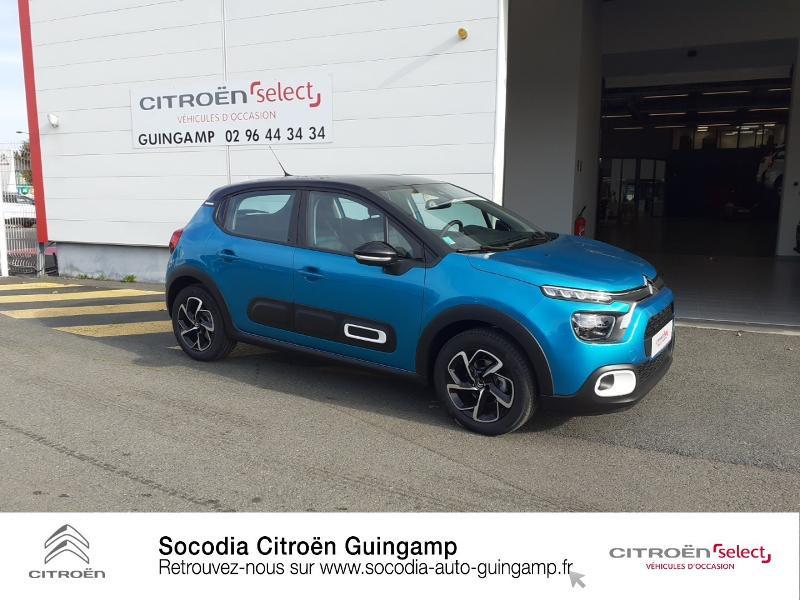 Photo 3 de l'offre de CITROEN C3 1.5 BlueHDi 100ch S&S Shine à 19990€ chez Socodia - Citroën Guingamp