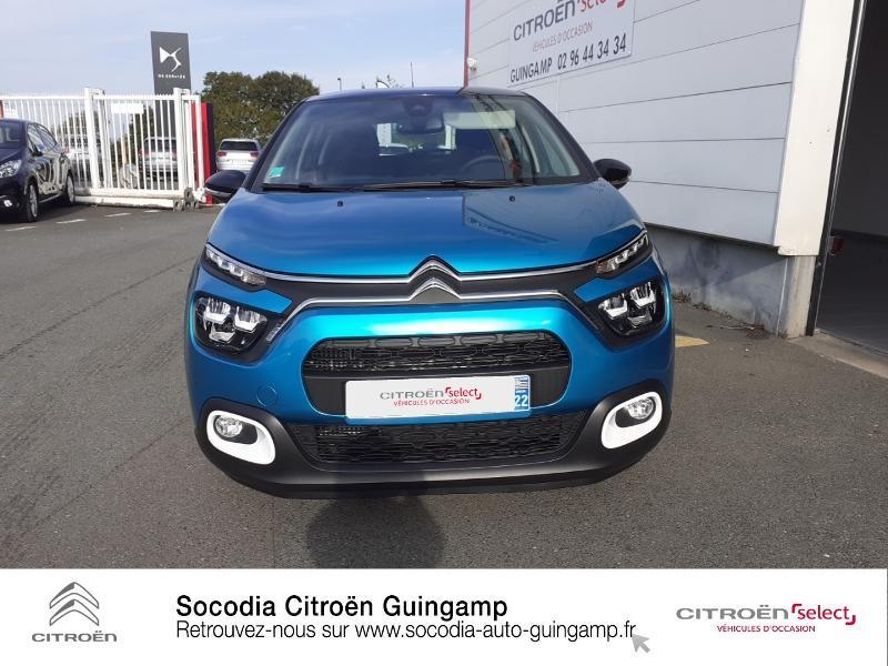 Photo 2 de l'offre de CITROEN C3 1.5 BlueHDi 100ch S&S Shine à 19990€ chez Socodia - Citroën Guingamp
