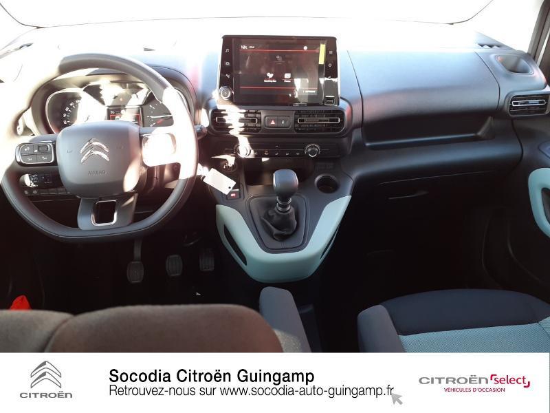 Photo 8 de l'offre de CITROEN Berlingo M BlueHDi 130ch S&S Feel à 24400€ chez Socodia - Citroën Guingamp
