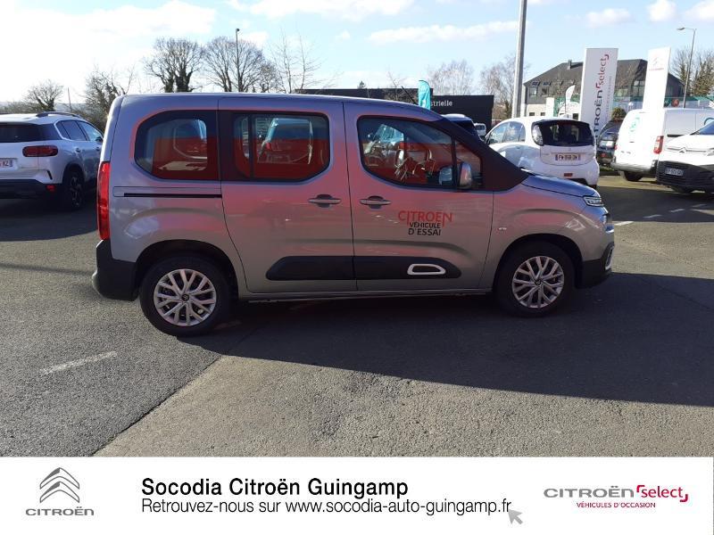 Photo 4 de l'offre de CITROEN Berlingo M BlueHDi 130ch S&S Feel à 24400€ chez Socodia - Citroën Guingamp