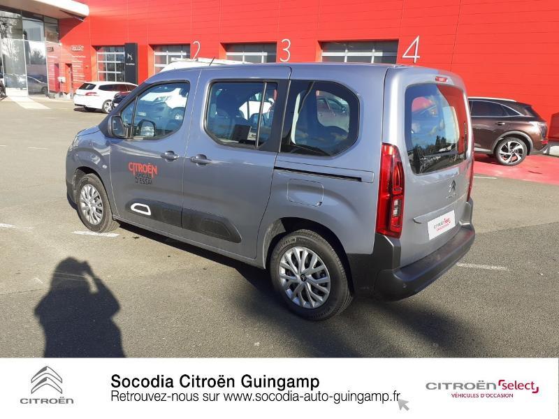 Photo 7 de l'offre de CITROEN Berlingo M BlueHDi 130ch S&S Feel à 24400€ chez Socodia - Citroën Guingamp
