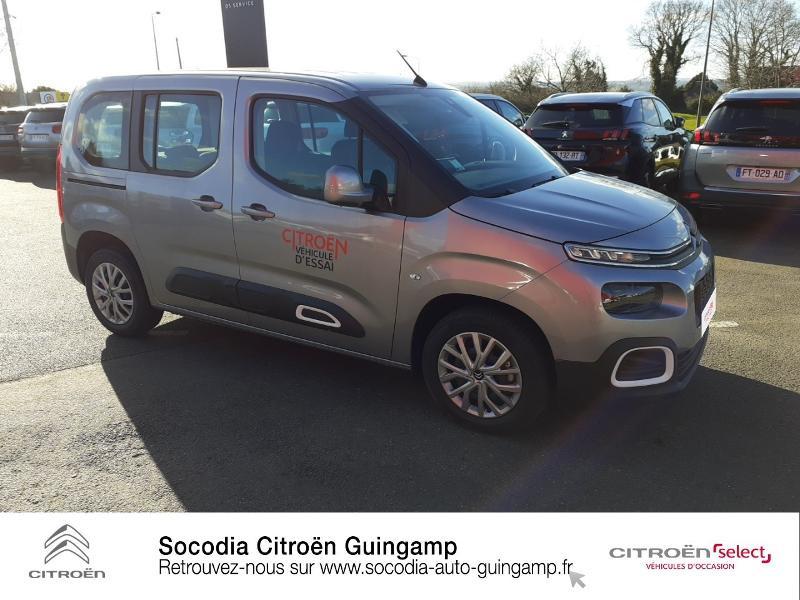 Photo 3 de l'offre de CITROEN Berlingo M BlueHDi 130ch S&S Feel à 24400€ chez Socodia - Citroën Guingamp