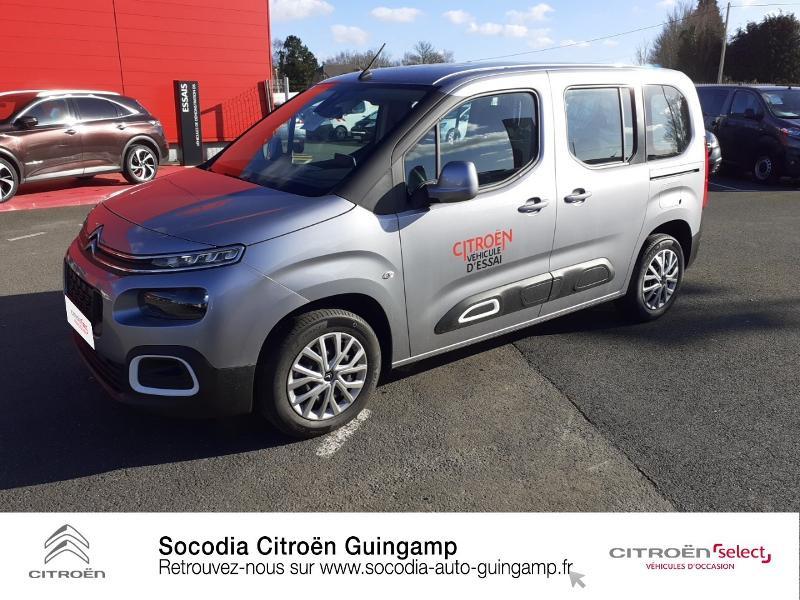 Photo 17 de l'offre de CITROEN Berlingo M BlueHDi 130ch S&S Feel à 24400€ chez Socodia - Citroën Guingamp