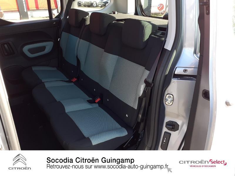 Photo 10 de l'offre de CITROEN Berlingo M BlueHDi 130ch S&S Feel à 24400€ chez Socodia - Citroën Guingamp