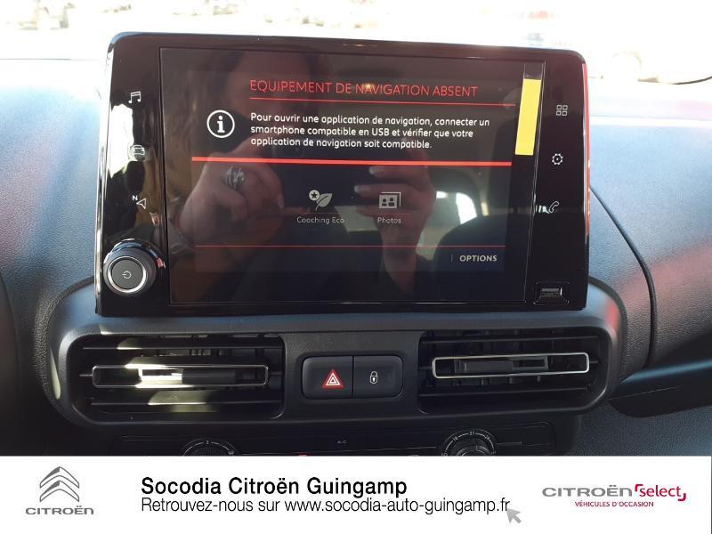 Photo 13 de l'offre de CITROEN Berlingo M BlueHDi 130ch S&S Feel à 24400€ chez Socodia - Citroën Guingamp