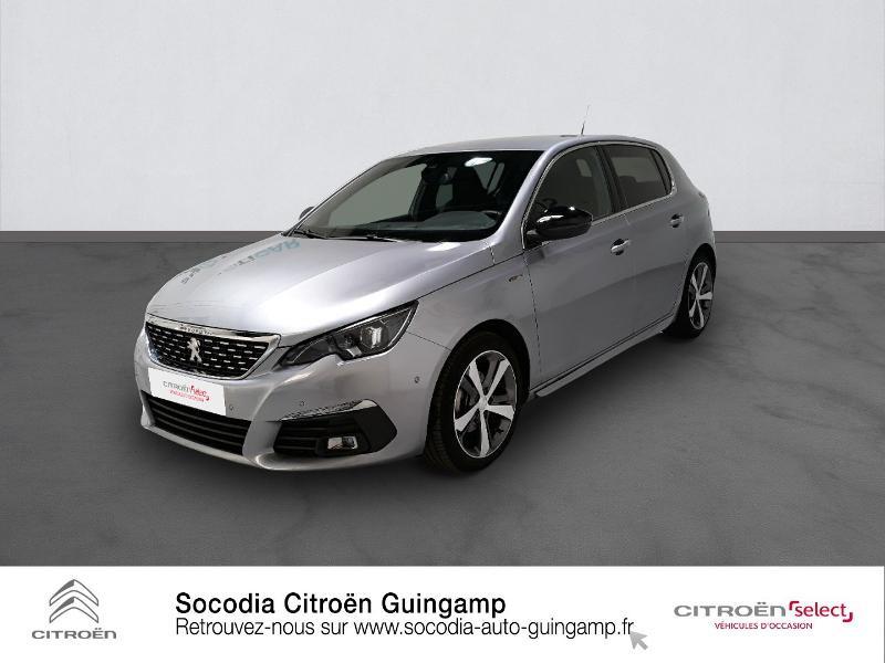 Peugeot 308 1.5 BlueHDi 130ch S&S GT Line EAT8 7cv Diesel GRIS ARTENSE Occasion à vendre