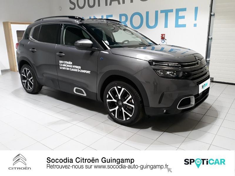 Photo 3 de l'offre de CITROEN C5 Aircross Hybrid 225ch Shine Pack e-EAT8 à 42500€ chez Socodia - Citroën Guingamp