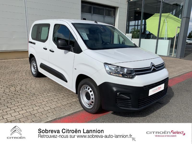 Photo 3 de l'offre de CITROEN Berlingo Van M 650kg BlueHDi 130 S&S Club à 17490€ chez Sobreva - Citroën Lannion