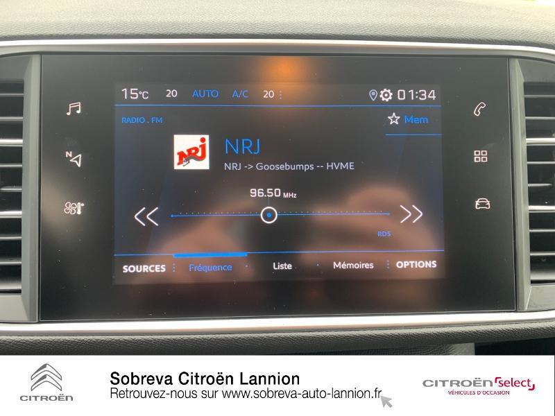 Photo 14 de l'offre de PEUGEOT 308 1.5 BlueHDi 130ch S&S Active à 20990€ chez Sobreva - Citroën Lannion