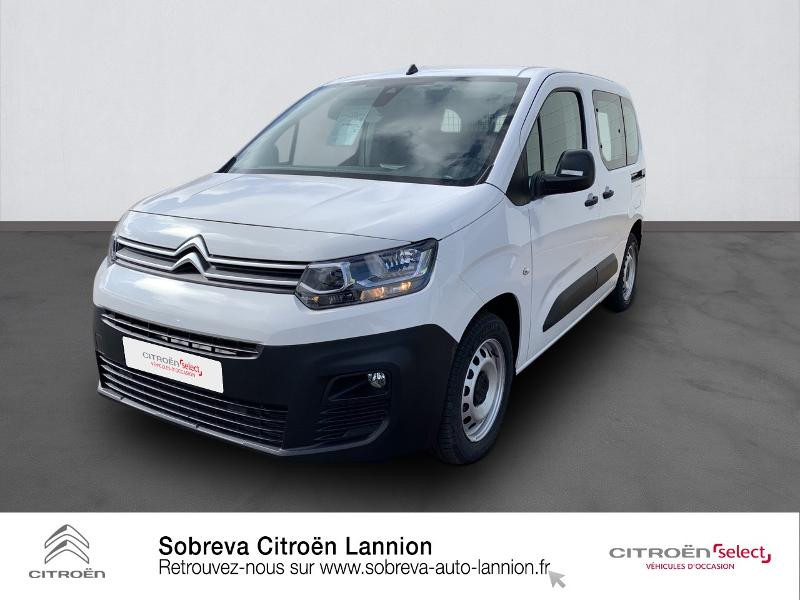 Photo 1 de l'offre de CITROEN Berlingo Van M 650kg BlueHDi 130 S&S Club à 17490€ chez Sobreva - Citroën Lannion