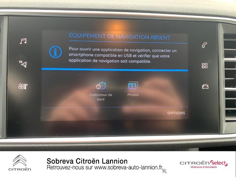 Photo 13 de l'offre de PEUGEOT 308 1.5 BlueHDi 130ch S&S Active à 20990€ chez Sobreva - Citroën Lannion