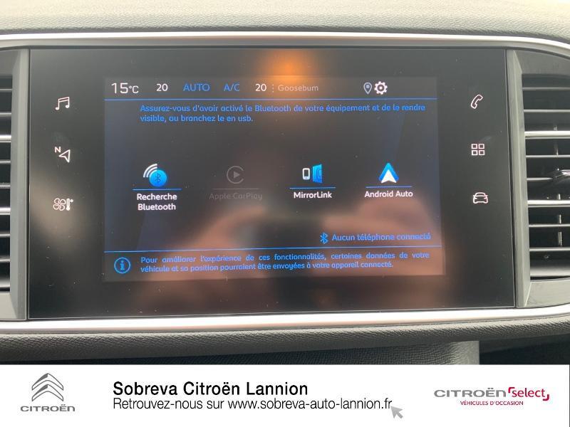 Photo 16 de l'offre de PEUGEOT 308 1.5 BlueHDi 130ch S&S Active à 20990€ chez Sobreva - Citroën Lannion