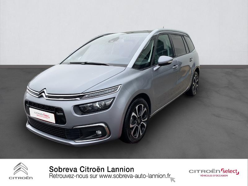 Photo 1 de l'offre de CITROEN Grand C4 SpaceTourer BlueHDi 130ch S&S Shine Pack EAT8 E6.d à 29900€ chez Sobreva - Citroën Lannion