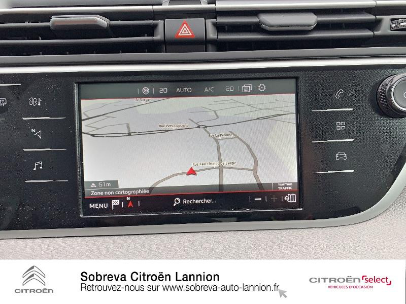 Photo 12 de l'offre de CITROEN Grand C4 SpaceTourer BlueHDi 130ch S&S Shine Pack EAT8 E6.d à 29900€ chez Sobreva - Citroën Lannion