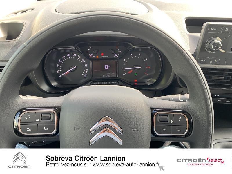 Photo 15 de l'offre de CITROEN Berlingo Van M 650kg BlueHDi 130 S&S Club à 17490€ chez Sobreva - Citroën Lannion