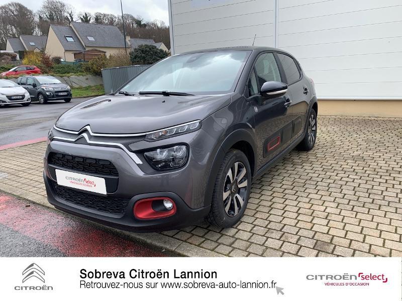 Photo 21 de l'offre de CITROEN C3 1.2 PureTech 83ch S&S C-Series à 17600€ chez Sobreva - Citroën Lannion