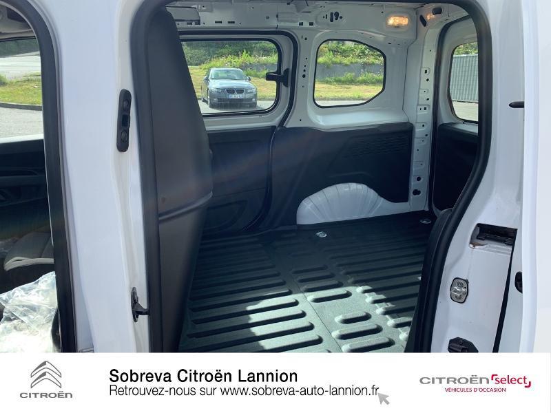 Photo 10 de l'offre de CITROEN Berlingo Van M 650kg BlueHDi 130 S&S Club à 17490€ chez Sobreva - Citroën Lannion