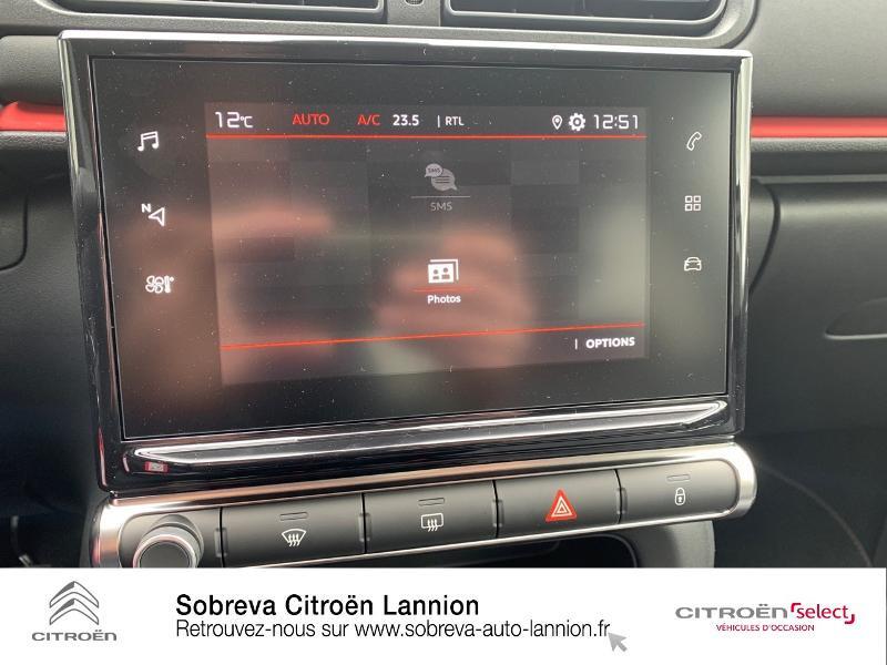 Photo 16 de l'offre de CITROEN C3 1.2 PureTech 83ch S&S C-Series à 17600€ chez Sobreva - Citroën Lannion