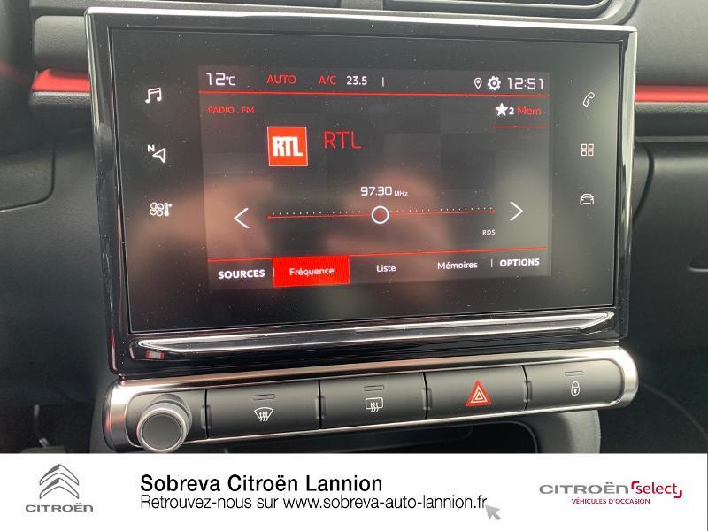 Photo 13 de l'offre de CITROEN C3 1.2 PureTech 83ch S&S C-Series à 17600€ chez Sobreva - Citroën Lannion