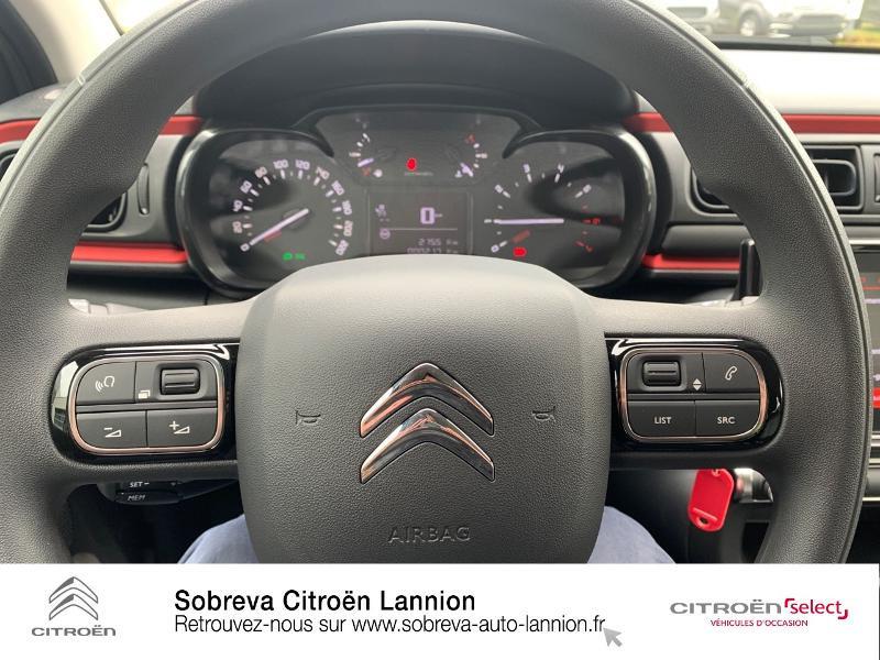 Photo 18 de l'offre de CITROEN C3 1.2 PureTech 83ch S&S C-Series à 17600€ chez Sobreva - Citroën Lannion