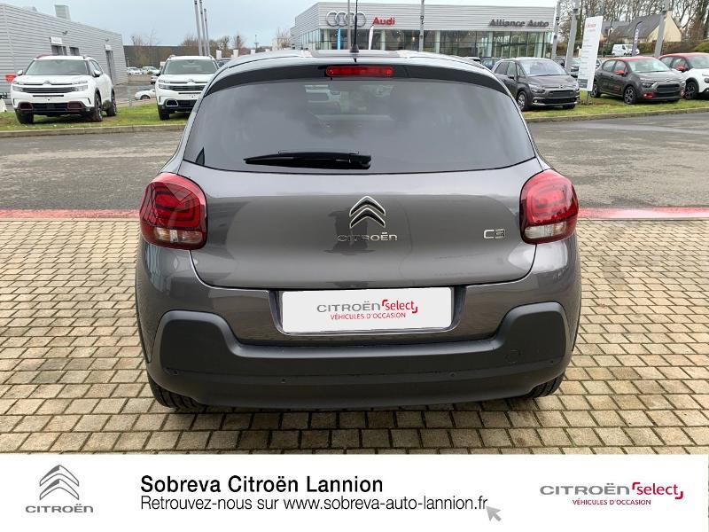 Photo 5 de l'offre de CITROEN C3 1.2 PureTech 83ch S&S C-Series à 17600€ chez Sobreva - Citroën Lannion