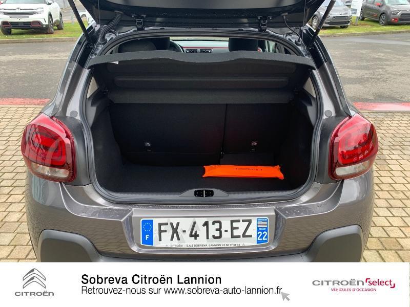 Photo 6 de l'offre de CITROEN C3 1.2 PureTech 83ch S&S C-Series à 17600€ chez Sobreva - Citroën Lannion