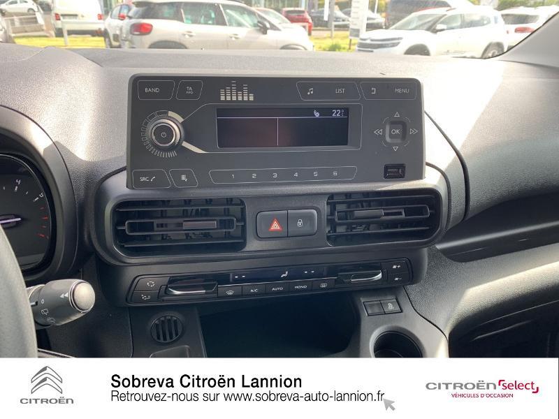 Photo 12 de l'offre de CITROEN Berlingo Van M 650kg BlueHDi 130 S&S Club à 17490€ chez Sobreva - Citroën Lannion