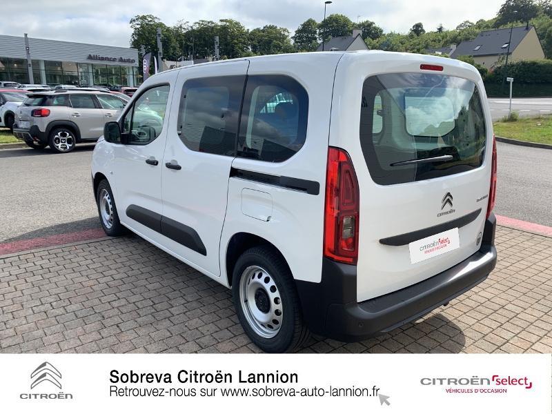 Photo 7 de l'offre de CITROEN Berlingo Van M 650kg BlueHDi 130 S&S Club à 17490€ chez Sobreva - Citroën Lannion