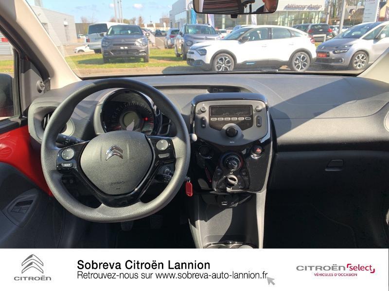 Photo 8 de l'offre de CITROEN C1 VTi 72 S&S Feel 5p E6.d à 12900€ chez Sobreva - Citroën Lannion