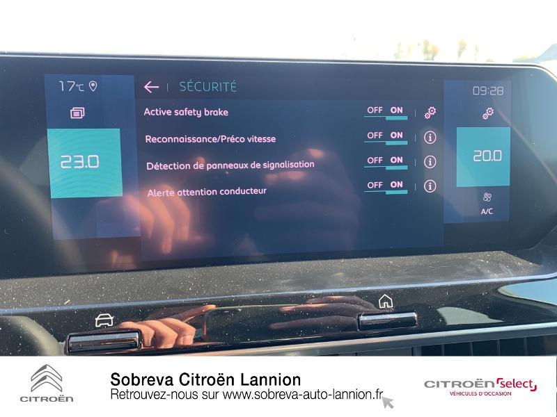 Photo 17 de l'offre de CITROEN C4 Moteur électrique 136ch (100 kW) Feel Pack Automatique à 36400€ chez Sobreva - Citroën Lannion