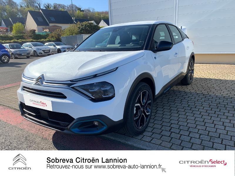 Photo 18 de l'offre de CITROEN C4 Moteur électrique 136ch (100 kW) Feel Pack Automatique à 36400€ chez Sobreva - Citroën Lannion