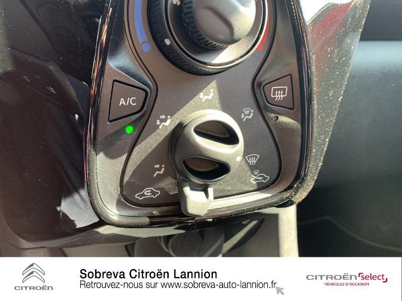 Photo 14 de l'offre de CITROEN C1 VTi 72 S&S Feel 5p E6.d à 12900€ chez Sobreva - Citroën Lannion