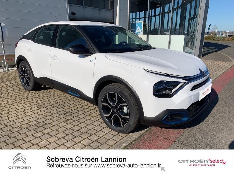 Photo 3 de l'offre de CITROEN C4 Moteur électrique 136ch (100 kW) Feel Pack Automatique à 36400€ chez Sobreva - Citroën Lannion