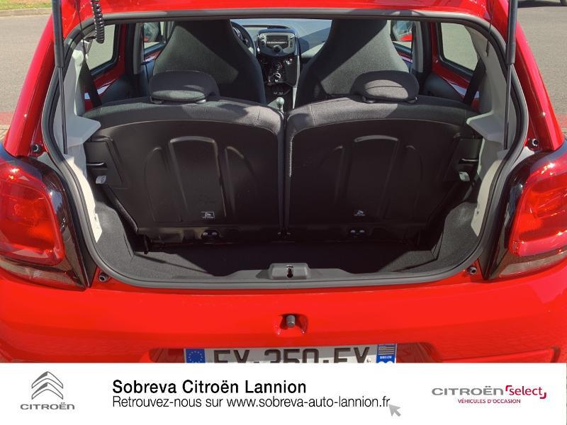 Photo 6 de l'offre de CITROEN C1 VTi 72 S&S Feel 5p E6.d à 12900€ chez Sobreva - Citroën Lannion