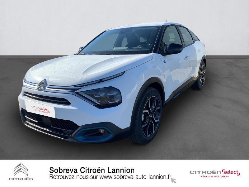 Citroen C4 Moteur électrique 136ch (100 kW) Feel Pack Automatique Electrique BLANC BANQUISE Occasion à vendre
