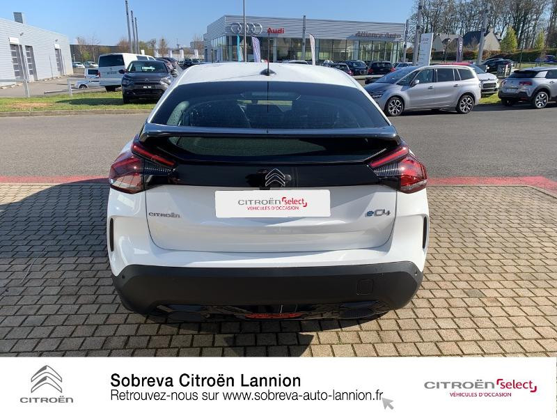 Photo 5 de l'offre de CITROEN C4 Moteur électrique 136ch (100 kW) Feel Pack Automatique à 36400€ chez Sobreva - Citroën Lannion