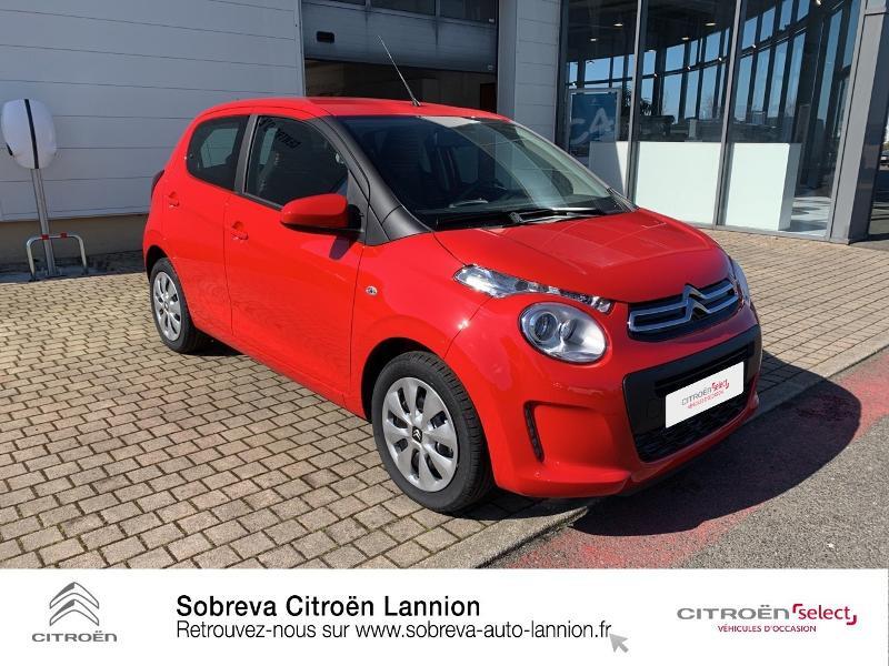 Photo 3 de l'offre de CITROEN C1 VTi 72 S&S Feel 5p E6.d à 12900€ chez Sobreva - Citroën Lannion