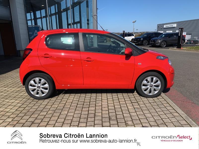 Photo 4 de l'offre de CITROEN C1 VTi 72 S&S Feel 5p E6.d à 12900€ chez Sobreva - Citroën Lannion