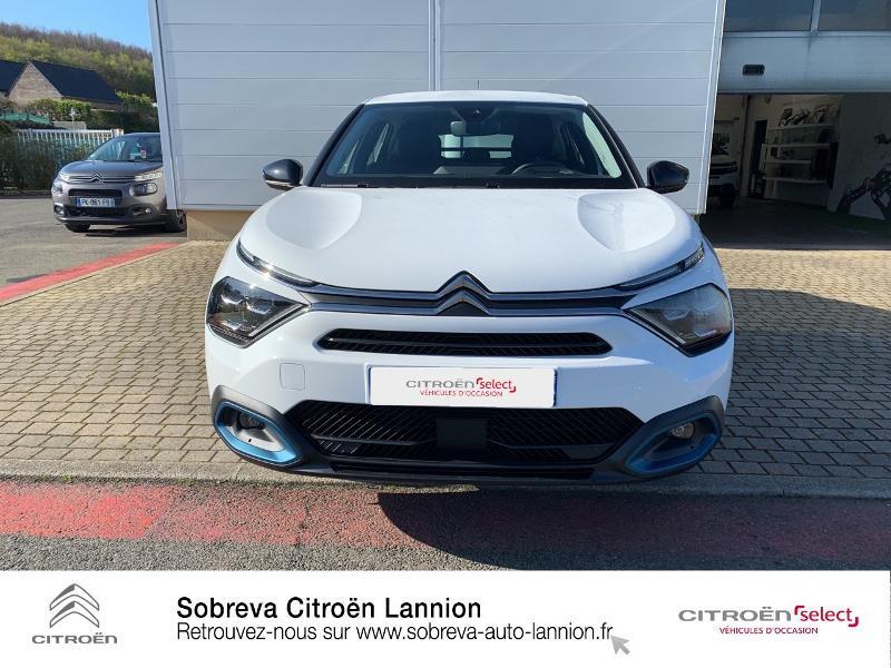 Photo 2 de l'offre de CITROEN C4 Moteur électrique 136ch (100 kW) Feel Pack Automatique à 36400€ chez Sobreva - Citroën Lannion